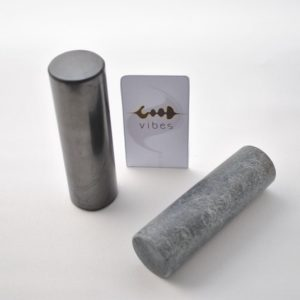 Cylindres harmoniseurs - shungite/stéatite