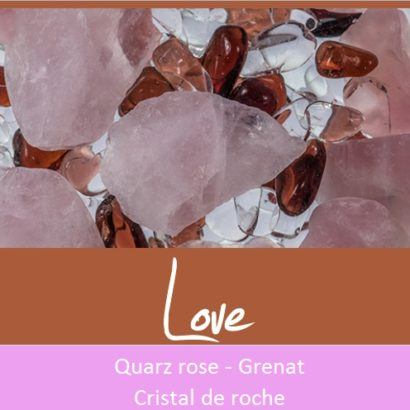 """Bouteille """"Via"""" Love"""